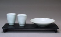 Shelley Schreiber - Cups and Bowl on Tray