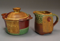 Lynn Hull - Creamer and Sugar Bowl
